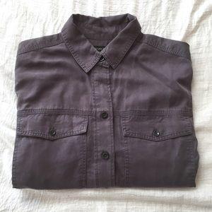 Banana Republic Women's Shirt Button Down Cotton